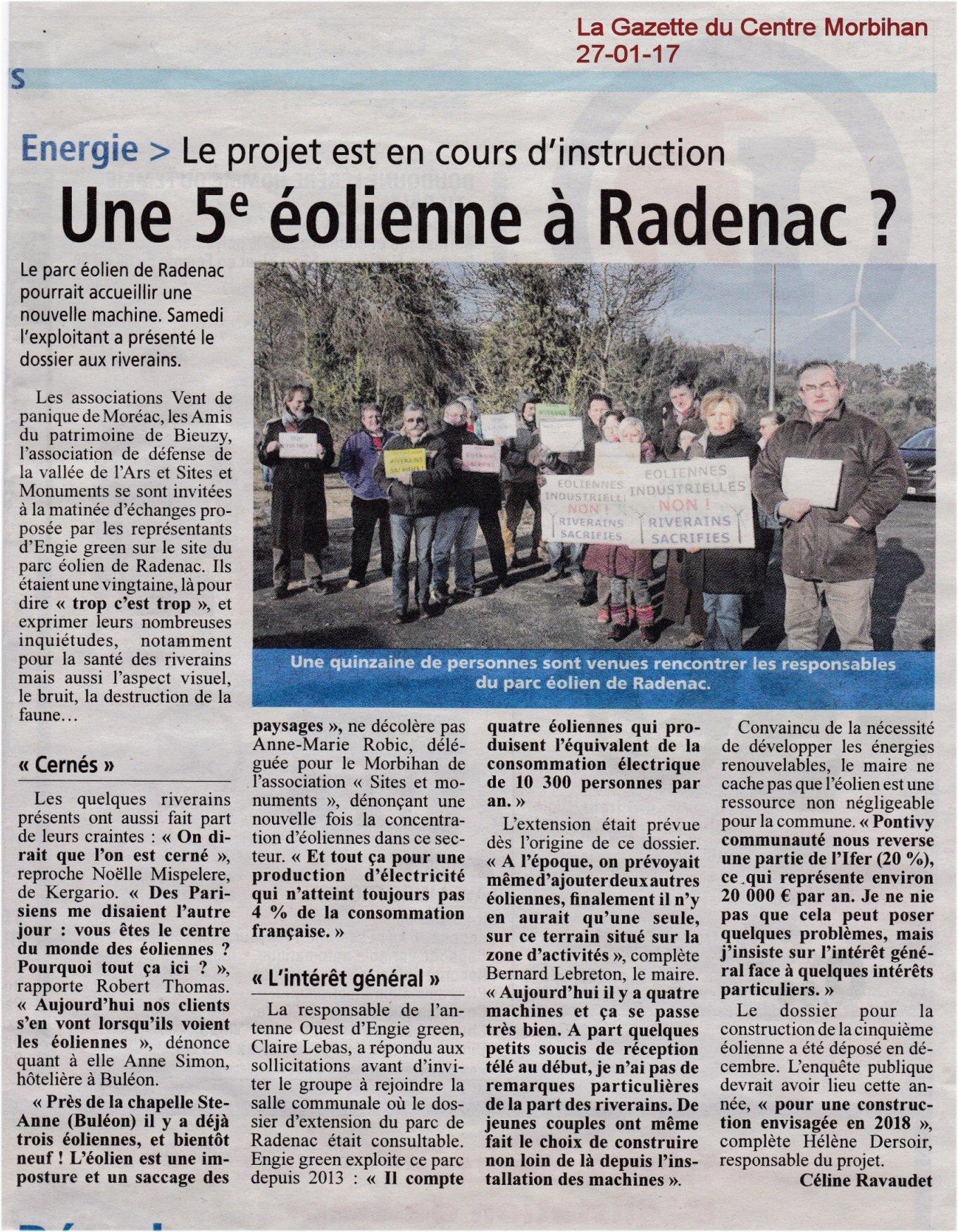 Radenac la gazette 27 01 17 1